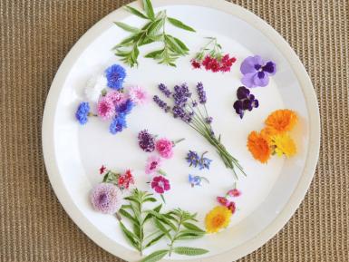 flowers cuisine